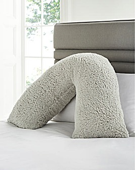 Cuddle Fleece V Shape Pillow