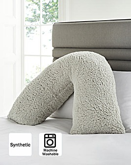 Cuddle Fleece V Shape Pillow