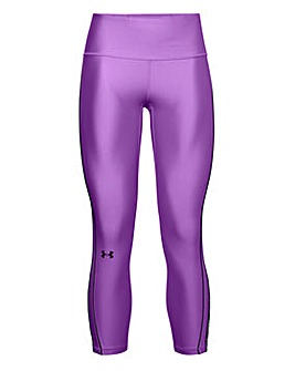 Under Armour Heat Gear WMT Ankle Print Crop Leggings