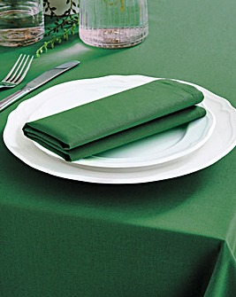 Pack of 4 Plain Dyed Napkins
