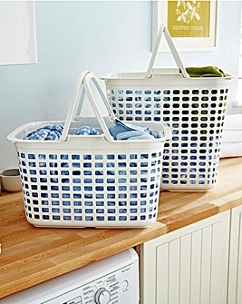 Laundry Basket with Handle