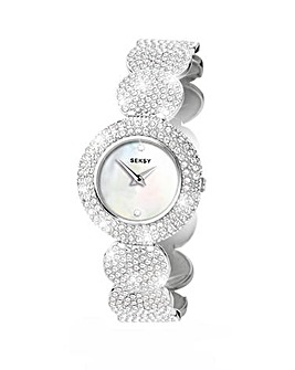 Seksy Ladies Elegance Stone Set Watch
