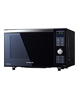 Panasonic NN-DF386BBPQ 23Litre Combination Flatbed Microwave Oven - Black