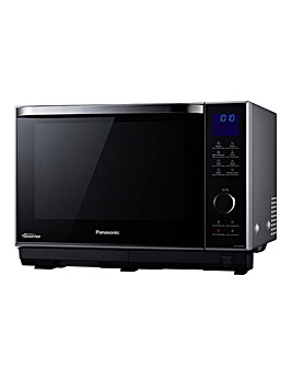 Panasonic NN-DS596BBPQ 27Litre Combination Flatbed Black Microwave Oven - Black