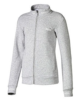 Puma Girls Grey Amplified Track Jacket