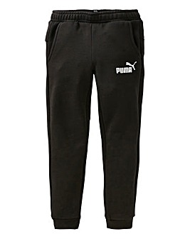 Puma Boys Black Slim Fit Joggers