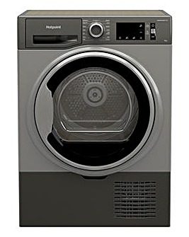 Hotpoint H3 D91GS UK 9kg Condenser Tumble Dryer - Graphite