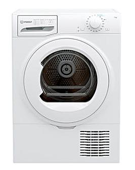 Indesit I2 D71W UK 7kg Condenser Tumble Dryer - White