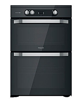 Hotpoint HDM67I9H2CB/UK Electric Double Cooker - Black