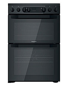 Hotpoint HDM67V9CMB/UK 60cm Electric Double Cooker + INSTALLATION