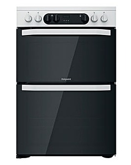 Hotpoint HDM67V9CMW/UK Electric Double Cooker - White