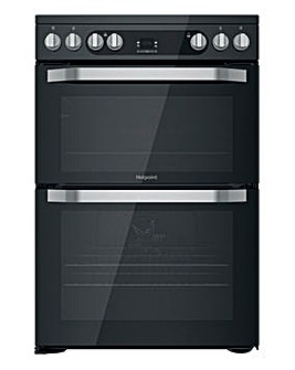 Hotpoint HDM67V9HCB/UK Electric Double Cooker - Black