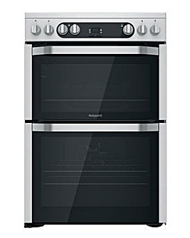 Hotpoint HDM67V9HCX/UK Electric Double Cooker - Stainless Steel