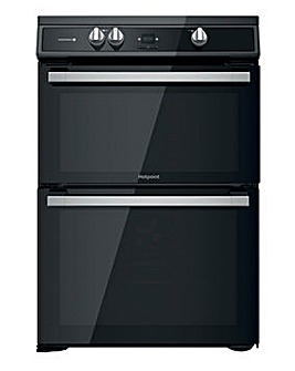 Hotpoint HDT67I9HM2C/UK Electric Double Cooker - Black