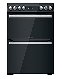 Hotpoint HDT67V9H2CB/UK 60cm Electric Double Cooker + INSTALLATION