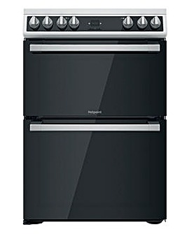 Hotpoint HDT67V9H2CW/UK Electric Double Cooker - White
