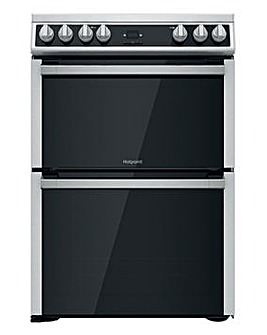 Hotpoint HDT67V9H2CX/UK 60cm Electric Double Cooker + INSTALLATION