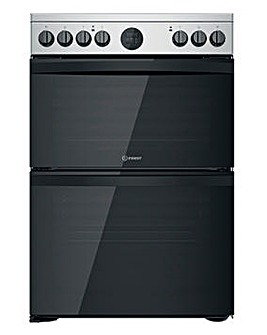 Indesit ID67V9HCX/UK 60cm Electric Double Cooker + INSTALLATION