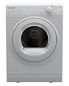 Indesit I1 D71W UK 7kg Vented Tumble Dryer - White