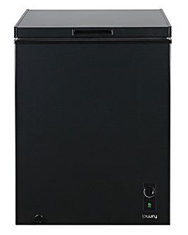 Lowry LCF142B 142 Litre Chest Freezer Black