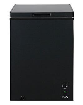 Lowry LCF99B Black 99 Litre Chest Freezer