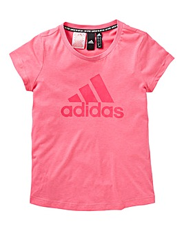 adidas Younger Girls BOS T-Shirt