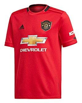 MUFC Adidas Junior Home Jersey