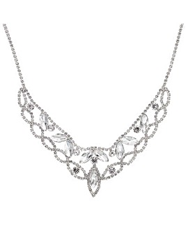 Mood Diamante Collar Necklace
