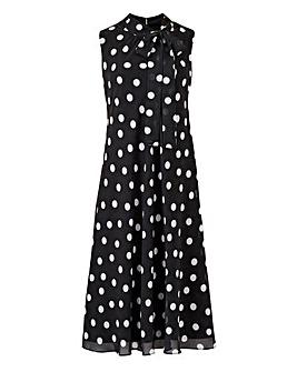 Joanna Hope Spot Swing Dress