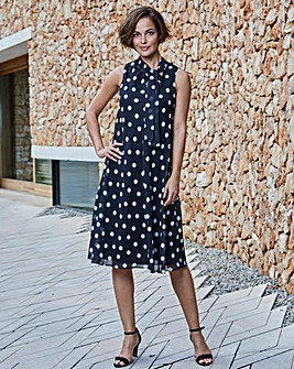 Joanna Hope Spot Swing Dress