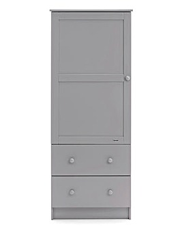 Obaby Single Wardrobe with Two Drawers