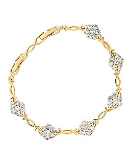Jon Richard Flower Link Bracelet