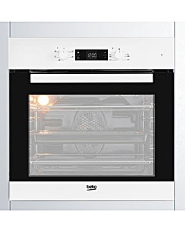 Beko BIF22300 Single Fan Oven White
