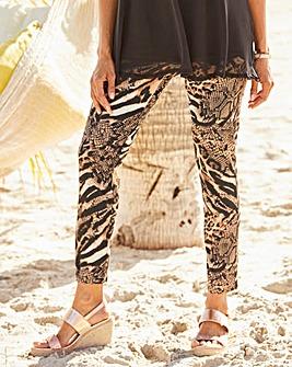 Joanna Hope Animal Print Trouser