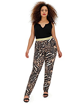 Joanna Hope Animal Print Trouser