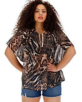 3a22cae4136 Women s Plus Size Blouses   Shirts