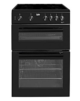 Beko KTC611K 60cm Electric Cooker