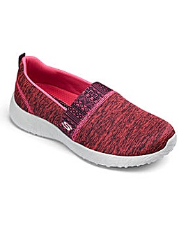 Skechers Sport Burst Slip On Trainers