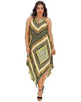 Joanna Hope Scarf Print Dress