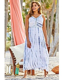 acb3836535 Joanna Hope Tie Dye Maxi Dress