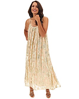 Joanna Hope Jaquard Swing Maxi Dress