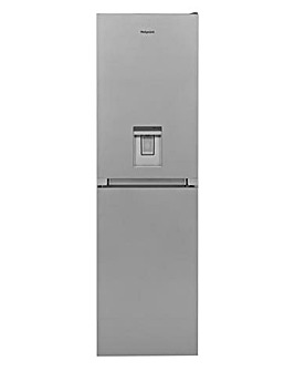 Hotpoint Silver Aqua Fridge Freezer