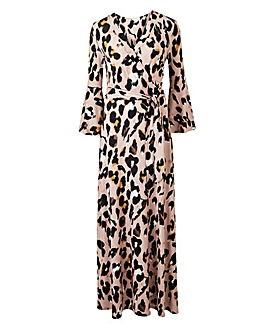 Joanna Hope Animal Print Maxi Dress
