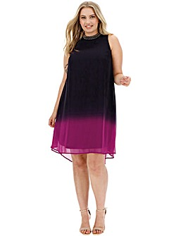 Joanna Hope Ombre Swing Dress