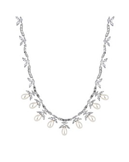Alan Hannah Pearl Droplet Necklace