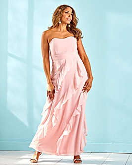 Joanna Hope Multi Frill Maxi Dress