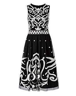 Joanna Hope Embroidered Prom Dress