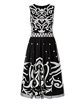 Joanna Hope Embroidered Prom Dress