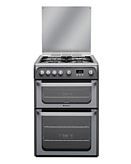 Hotpoint HUG61G Gas Double Cooker