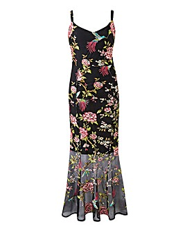 Joanna Hope Embroidered Maxi Dress